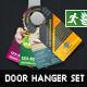 DOA Door Hanger Set 01 - GraphicRiver Item for Sale