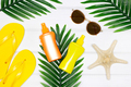 Summer holiday concept. Summertime flat lay composition - PhotoDune Item for Sale