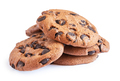 Pile of oatmeal cookies with chocolate - PhotoDune Item for Sale