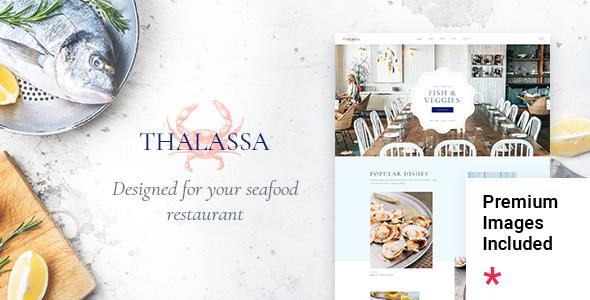 Thalassa - Seafood Restaurant Theme