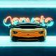 Sport Car Neon Logo - VideoHive Item for Sale