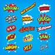 Cartoon Sounds and Exclamations - GraphicRiver Item for Sale