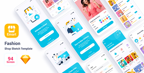 Download Emart – Fashion Shop Adobe Sketch Template Nulled