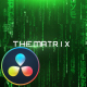 The Matrix - Cinematic Titles - DaVinci Resolve - VideoHive Item for Sale