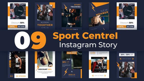 Sport Centre Instagram Story Pack