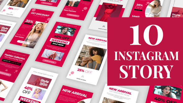 Limited Stock Fashion Instagram Stories