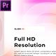 Pastel Color Slideshow // Premiere Pro