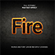 Fire Text Effect - GraphicRiver Item for Sale