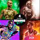4 Photoshop Actions Bundle - Jul21 - GraphicRiver Item for Sale
