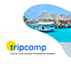 Tripcamp - Tour & Travel Vacation PowerPoint Template - GraphicRiver Item for Sale