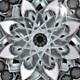 4K Silver Lotus Mandala - VideoHive Item for Sale