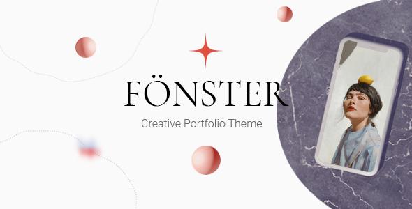Fönster - Creative Portfolio Theme