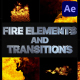 VFX Fire Elements And Transitions | After Effects - VideoHive Item for Sale