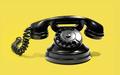 Black retro rotary telephone - PhotoDune Item for Sale