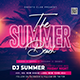 Summer Flyer Template - GraphicRiver Item for Sale