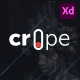 Crope - Creative Web Agency Adobe XD Template - ThemeForest Item for Sale