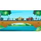 Car running on bridge - GraphicRiver Item for Sale