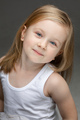 Adorable toddler smiling to the camera at photo session - PhotoDune Item for Sale