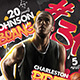 Basketball Player Record Flyer - GraphicRiver Item for Sale
