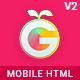 GoMobileUX Multipurpose HTML Template - Bootstrap 5 Framework 7 Angular 12 kit - ThemeForest Item for Sale