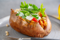 Baked sweet potato with sour cream - PhotoDune Item for Sale