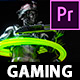 Gaming Intro - Gamer channel opener Premiere Pro project - VideoHive Item for Sale
