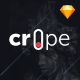 Crope - Creative Web Agency Sketch Template - ThemeForest Item for Sale