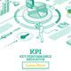 KPI Key Performance Indicator. Vector Illustration. - GraphicRiver Item for Sale