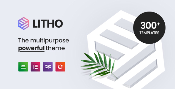 Litho - Multipurpose Elementor WordPress Theme