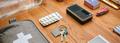 Necessities prepared for emergency backpack - PhotoDune Item for Sale