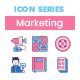 75 Traditional Marketing Icons - GraphicRiver Item for Sale