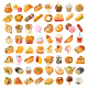 Collection of Vector Street Food Illustrations - GraphicRiver Item for Sale