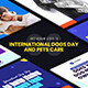 International Dogs Day and Pets Care Instagram Stories - VideoHive Item for Sale