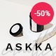 Askka - Candle Shop - ThemeForest Item for Sale