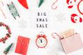 Big Christmas sale text lightbox white background - PhotoDune Item for Sale