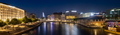 Panoramic Night view of Geneva city in Switzerland - PhotoDune Item for Sale