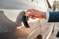 Shot of businessman opening fuel tank of his car - PhotoDune Item for Sale