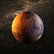 Planet Mars Realistic Design - 3DOcean Item for Sale