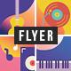 Live Digital Music Flyer - GraphicRiver Item for Sale