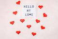 Creative Valentine Day romantic composition - PhotoDune Item for Sale