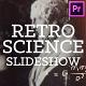 Retro Science Slideshow for Premiere Pro - VideoHive Item for Sale