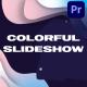 Colorful Liquid Slideshow   Premiere Pro MOGRT - VideoHive Item for Sale