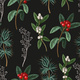 Seamless Pattern with Botanical Pines and - GraphicRiver Item for Sale