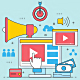 Business Video Marketing Online Flat Design - GraphicRiver Item for Sale