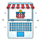 Online Shopping Store Concept - GraphicRiver Item for Sale
