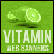 Vitamin Web Banners Collection - GraphicRiver Item for Sale