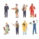 People of Different Occupations and Professions - GraphicRiver Item for Sale