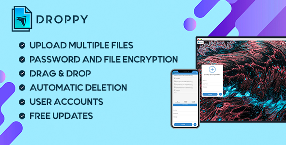 Droppy - Online file transfer and sharing
