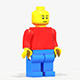 Lego Man PBR rigeed - 3DOcean Item for Sale
