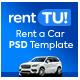 rentTU! Modern Rent a Car - Car Rental PSD Template - ThemeForest Item for Sale